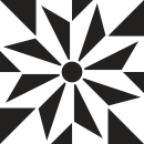 Motif Carrelage BigStar - Autocollant meuble