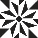 Motif du carrelage - Autocollant meuble
