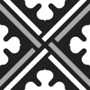 Motif Carrelage Puzzle - Autocollant meuble
