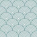 Style Cercle - Autocollant meuble