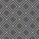 Style Losange - Autocollant meuble