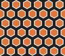 Style Hexagone - Autocollant meuble