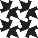 Style Interlock - Autocollant meuble