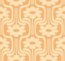 Style Retro-Flower - Autocollant meuble