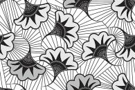 Style Wax Flower - Autocollant meuble