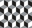 Style Cubik - Autocollant meuble