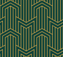 Style Art deco MC Chevron - Autocollant meuble